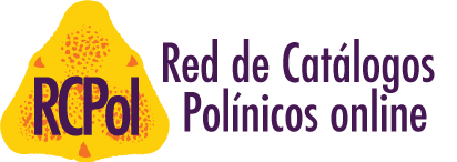 Logo RCPol - Rede de Catálogos Polínicos online